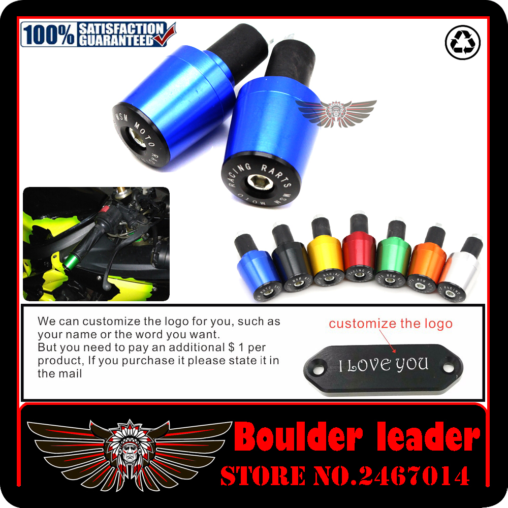 CNC 22 MM Gidon Sapları Kolu Bar Cap Sonu Honda gölge 750 Goldwing Gl1800 Steed Vfr 800 Dio Cb400 Cb 600