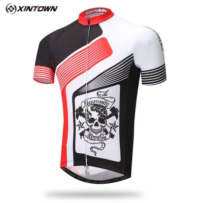 XINTOWN Ropa ciclismo ohio state jersey Bisiklet Jersey Yaz Kısa Jersey mtb Bisiklet Bisiklet elbise ropa ciclismo hombre