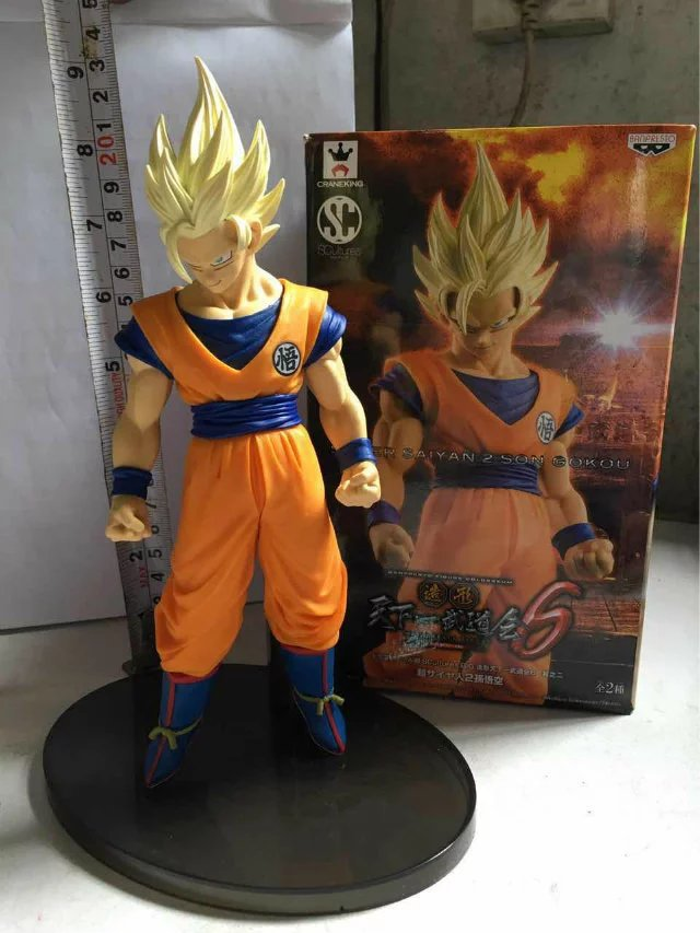 Dragon Ball Z Son Gokou Action Figure Kakarotto Son Gokou süper Seiya Dragon Ball Vegetto Modeli Oyuncak Figuras Esferas Del ejderha